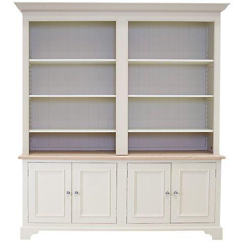 Buy Neptune Chichester Grand Bookcase, Limestone Online at johnlewis.com