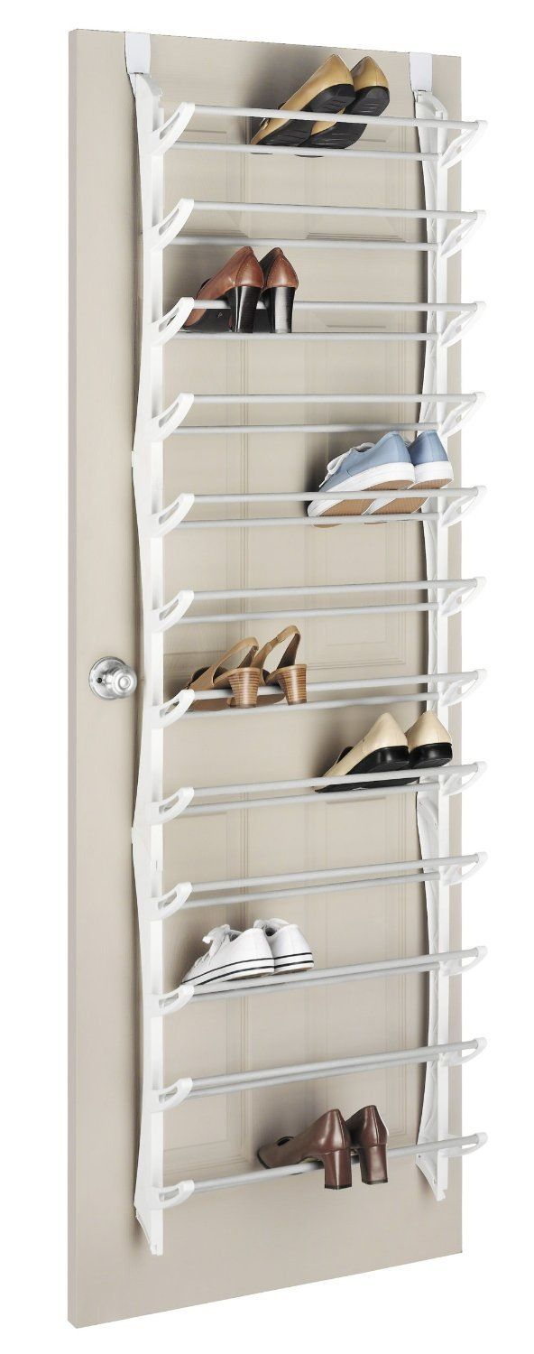 10 Must Have Solutions For Shoe Storage. Closet Shoe StorageHanging ...