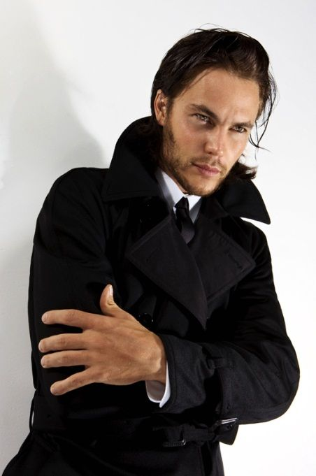 Taylor Kitsch. Loved him in Friday Night Lights, and in Battleship. Very good.