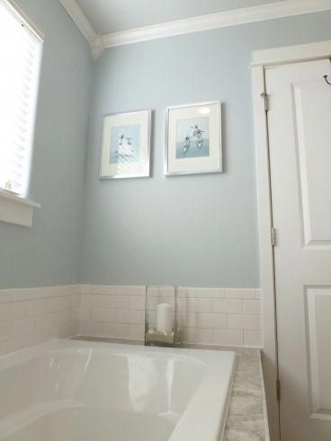 color ideas for master bath. #bathroomcolors   master