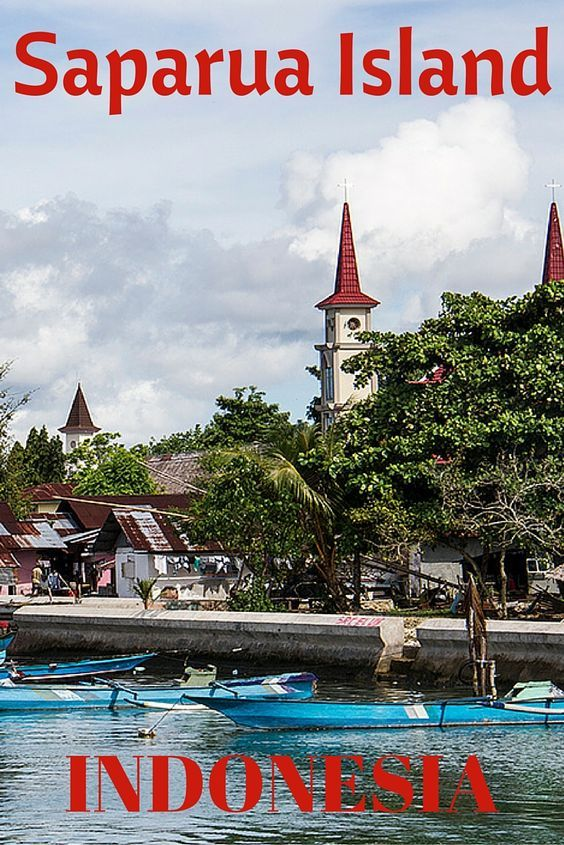 Visit the Indonesian Spice Islands of Saparua and Ambon, Moluccas, Indonesia Maluku