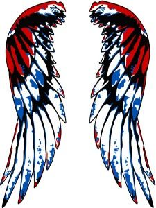 Wing idea for matching tattoo with my Dad :)