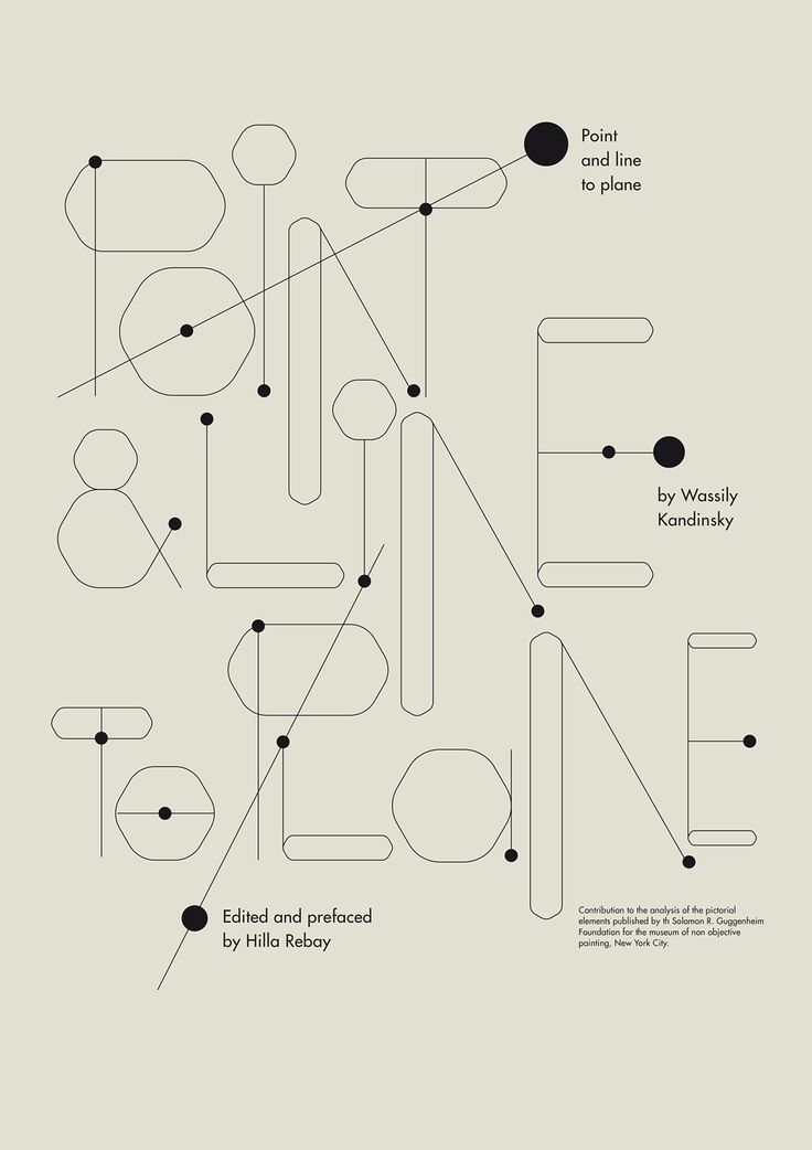 Point and Line to Plane : Book on Typography Served