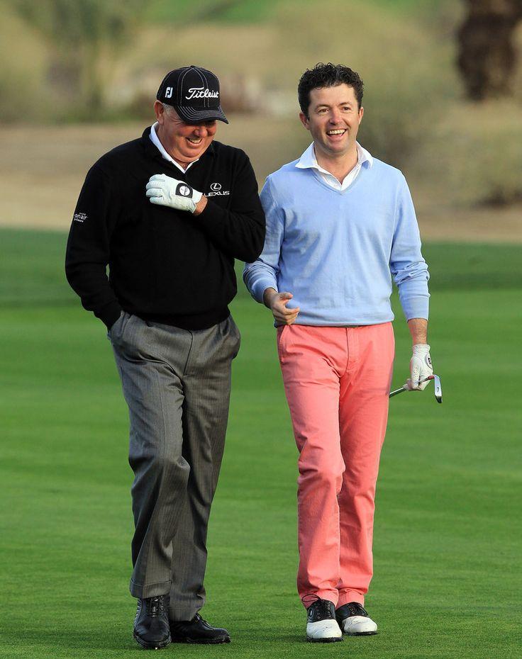 mark o'meara | Shane O'Donoghue and Mark O'Meara Photos - Omega Dubai Desert Classic ...