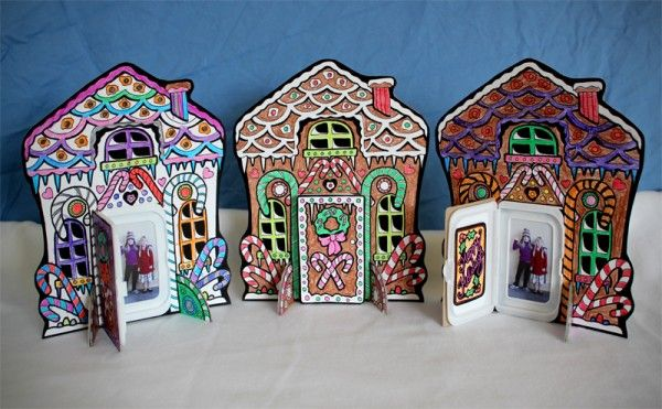 Gingerbread House Holiday Photo Card