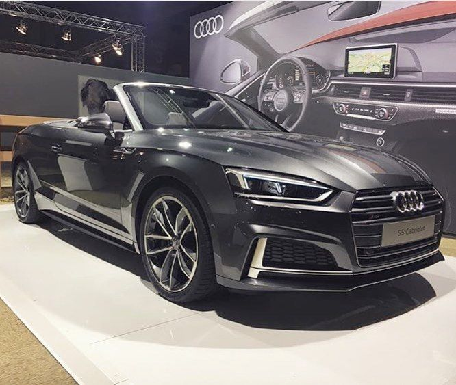 If the darker colors are you - how about this new S5 Cabriolet? -- #Audi #newS5 #Cabriolet ---- oooo #audidriven - what else photo @audisportdealer ---- #S5Cabriolet #AudiS5 #newA5 #S5 #quattro #4rings #audilove #greys5 #drivenbyvorsprung #audination #audigramm #audigram #audilove #audis #saudi #s5cabrio #greyaudi