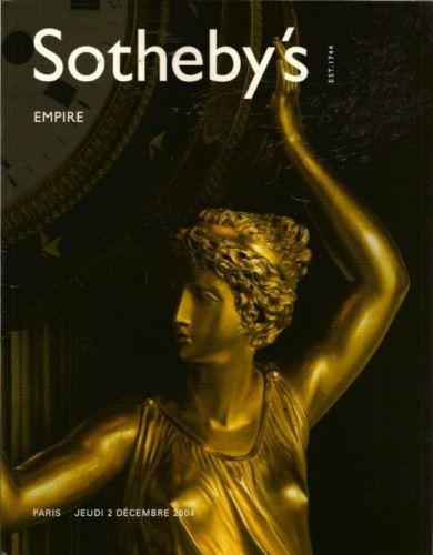 SOTHEBY-S-EMPIRE-Napoleon-Bonaparte-Art-Furniture-Auction-Catalog-2004