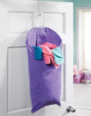 Small space solution back of the door laundry hampers laundry hamper small space solutions - Laundry hampers for small spaces plan ...