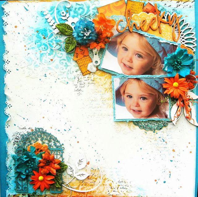 2Crafty - My January InspirationTwo Layouts by Di Garling