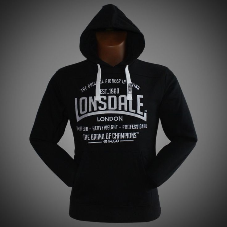 Mikina LONSDALE Brand of Champions black
