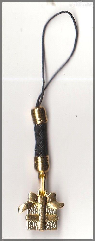 Christmas Present Charm Mobile Phone/Bag Dangle by MadAboutIncense - $6.50