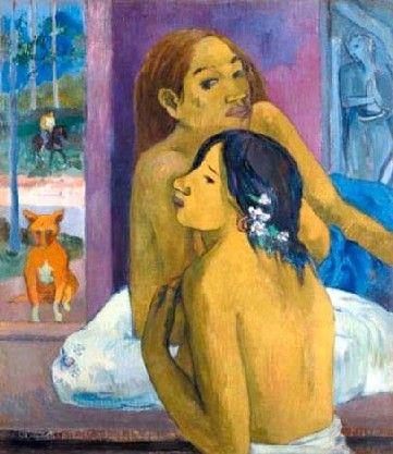 Gauguin - Deux femmes ou La chevelure fleurie (1902)
