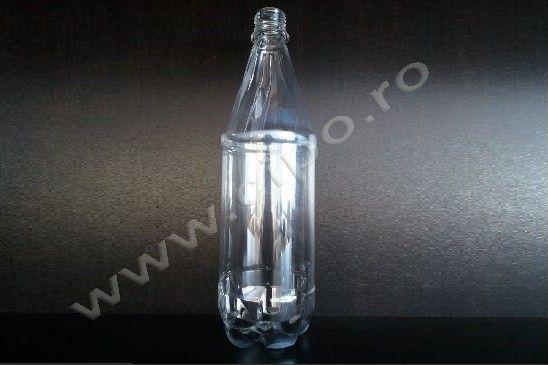 PET 1 litru - Producator flacoane PET apa minerala si plata, lapte, ulei, si preforme PET.