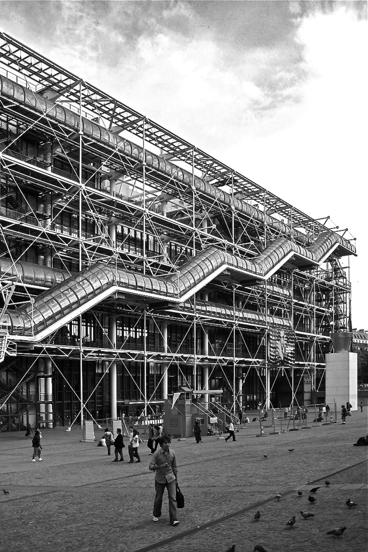 63 best images about richard rogers on pinterest cardiff - Centre george pompidou architecture ...