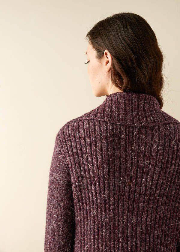 Ridgeline Wrap Cardigan   Purl Soho   Purl Soho-Knitting   Wrap