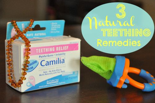 3 Natural Teething Remedies - essential!   Thank you Daily Mom!