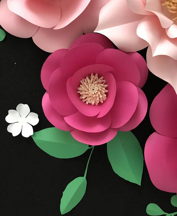 This light and hot pink flower backdrop is amazing for wedding, wall decor, baby shower, birthday, nursery and so on. It's perfect when you have 2 sets to put at 2 corners of a square backdrop. Otherwise, you can be creative with you own style, surely they will cheer your space up!