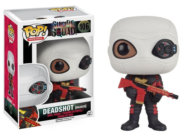 Funko Pop! Heroes: Suicide Squad - Deadshot (Masked)  Funko  Funko Pop!, Suicide Squad www.detoyboys.nl
