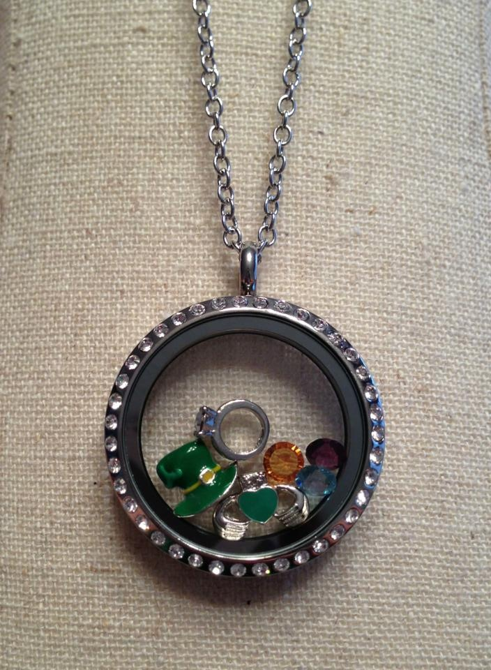 Locket and charms from South Hill Designs