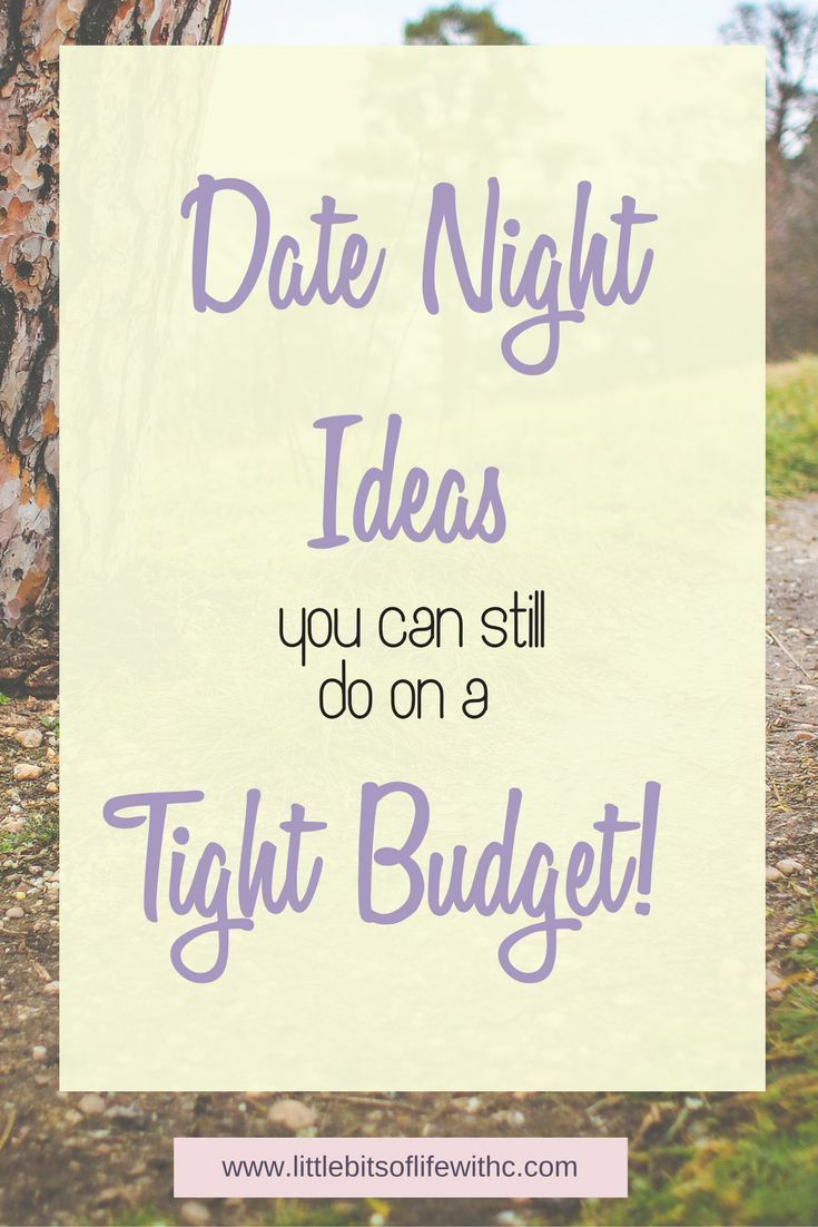 On a tight budget? Looking for date night ideas? You can still have date nights while saving money!!
