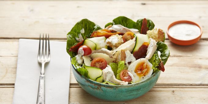 I Quit Sugar: Chicken Caesar Salad Bowl