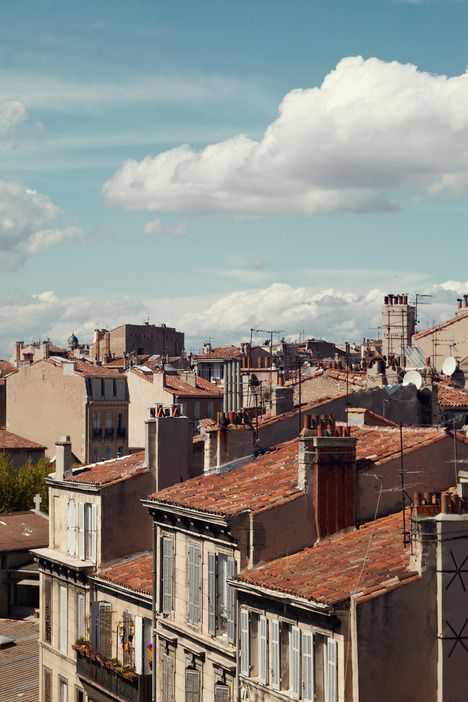 I love Marseille. French but with a side of grit.