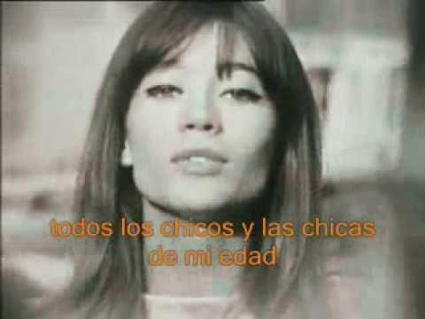 Tous les garçons et les filles - Francoise Hardy-subtítulos en español