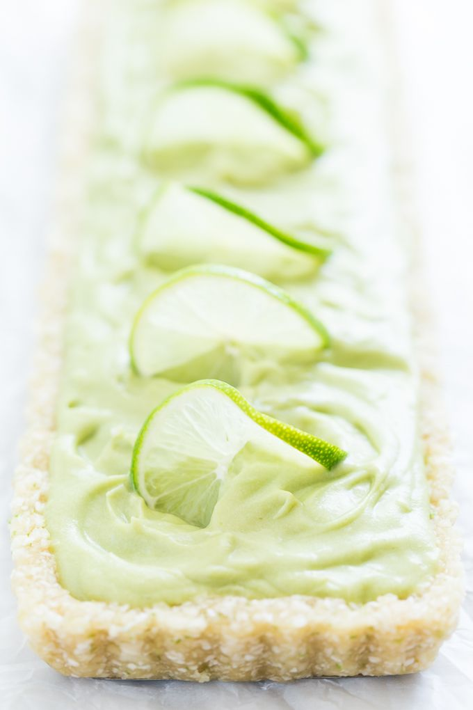 No-Bake Coconut Lime Tart