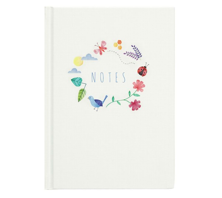 Journaling is a beautiful way to take some time out each day to pause and reflect. Featuring over 200 lined and blank pages, this A5 Feature Journal is a great way get scribbling.