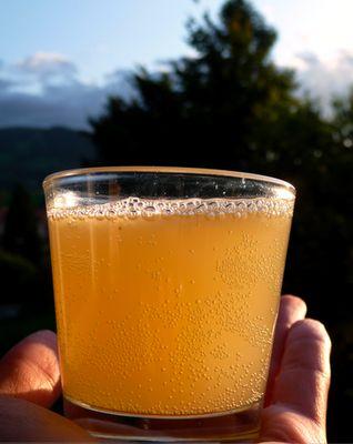 Yeux friands et Bouche bée: Recette ayurvédique: La tonique, boisson pétillante au citron et au gingembre