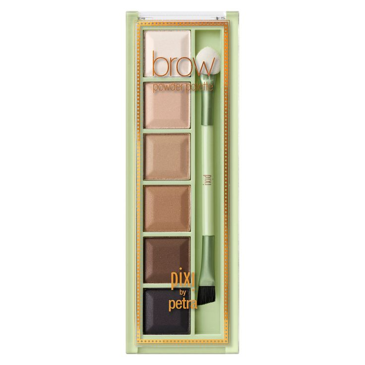 Pixi by Petra Brow Powder Palette Shades of Brows - 0.2oz