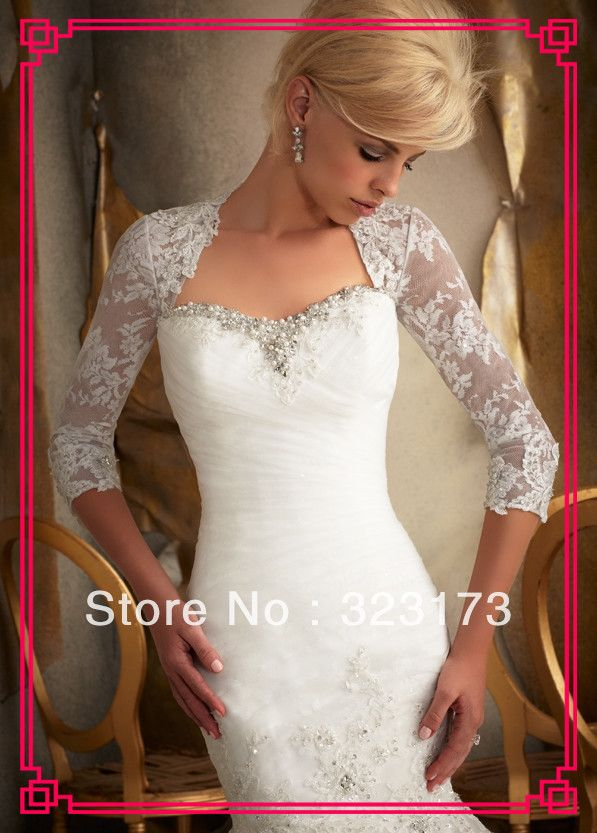 54 best Boleroa / Jacket images on Pinterest | Short wedding gowns ...