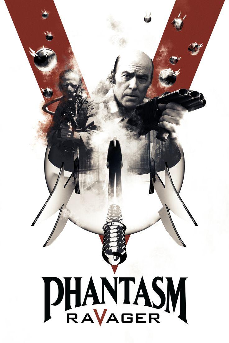 Phantasm Ravager Movie Poster - Angus Scrimm, A. Michael Baldwin, Reggie Bannister  #PhantasmRavager, #AngusScrimm, #AMichaelBaldwin, #ReggieBannister, #DavidHartman, #Horror, #Art, #Film, #Movie, #Poster