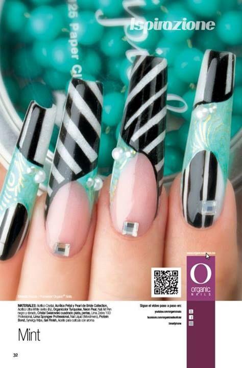 Organic Nails - Mint