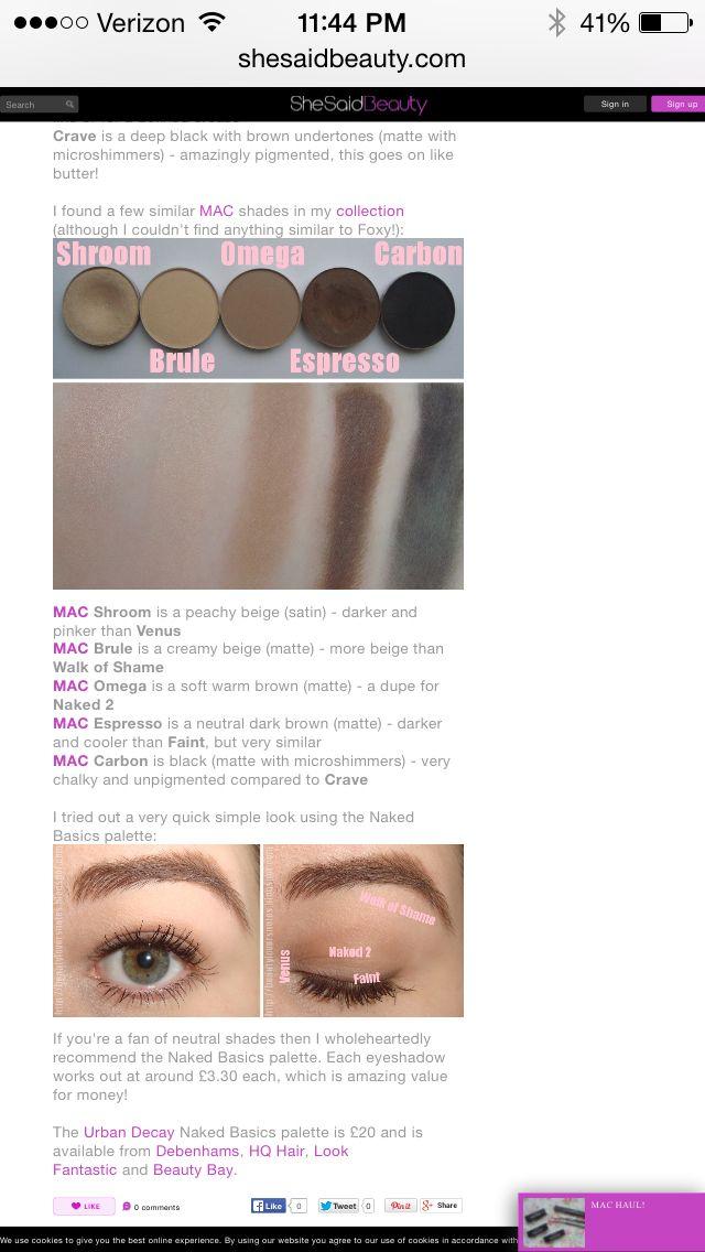 Omega Mac Dupe Mac shades, Mac dupes, Eyeshadow