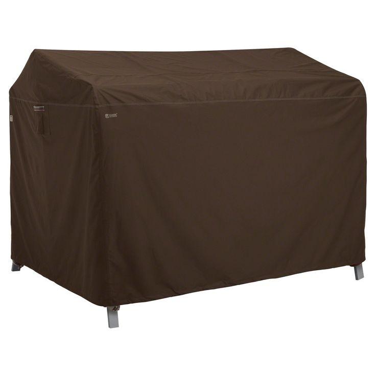 Madrona Canopy Swing Cover - Dark Cocoa (Brown) - Classic Accessories