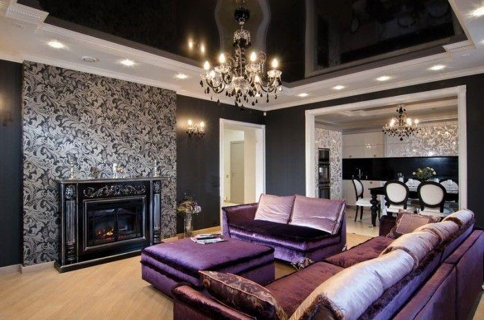 Блеск и великолепие арт-деко в интерьере квартир и домов