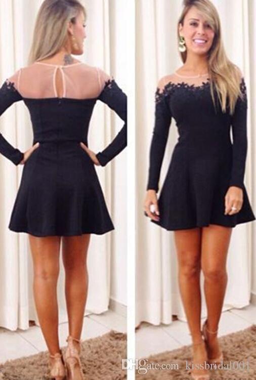 Black dress homecoming ideas 2016