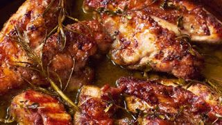 Jamie Oliver's 30 Minute Meals: Killer Jerk Chicken Recipe with Rice & Black Beans & Cinnamon + Grilled Corn