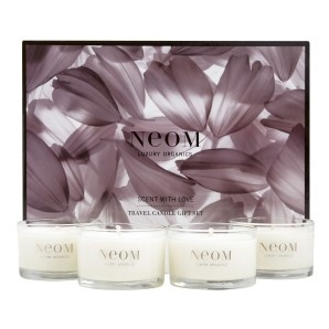 Neom Scent with Love Travel Candles Gift Set