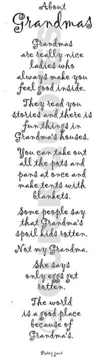 Grandma, my first understanding of real love!...and You were the next! :)