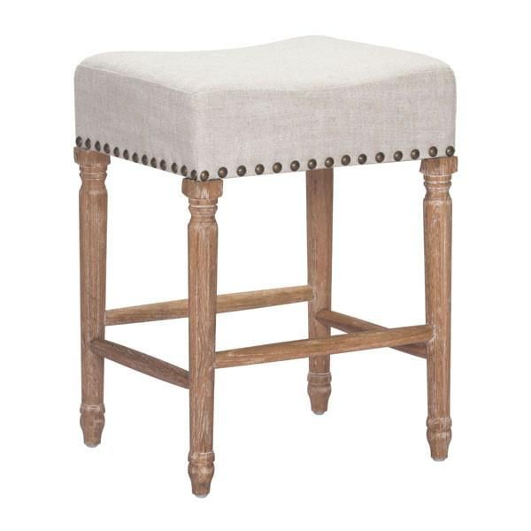 About The Product The Anaheim Counter Stool Has A Plush