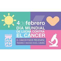 4 de Febrero - Día mundial contra el cancer El Día Mundial contra el Cáncer ofrece una oportunidad para reflexionar y pensar en lo que queremos hacer para comprometernos y para actuar. Sea lo que sea lo que decidas hacer Nosotros podemos. Yo puedo. marca la diferencia en la lucha contra el cáncer. #cancer #day #global #youcan #ican #byou #becomplete