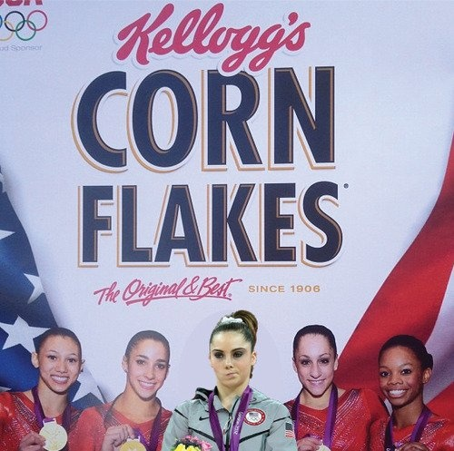 McKayla Maroney is not impressed with endorsements