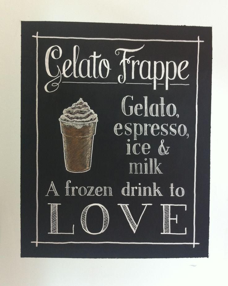 17 best images about chalkboard art on pinterest typography palm beach and chalk board Starbucks palm beach gardens