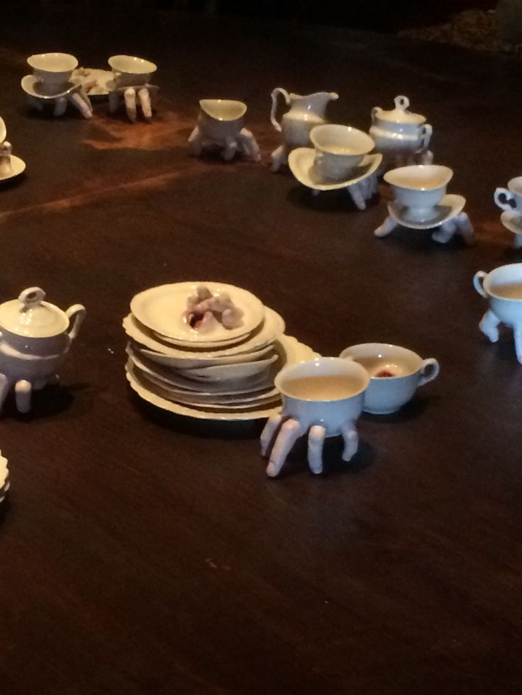 Ronit Baranga ceramics at Dismaland