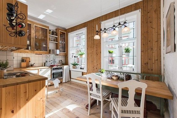 Norwegian kitchen- picture from sales prospect by boa