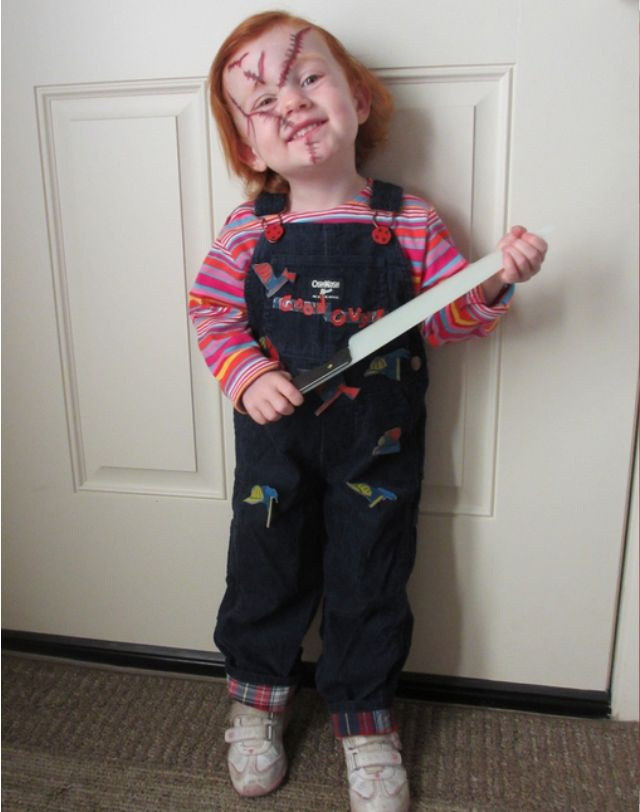 The 25 best chucky costume for kids ideas on pinterest chucky chucky costume solutioingenieria Choice Image