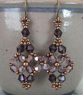 Linda's Crafty Inspirations: Amethyst Moon Ring & Printemps Re-Make
