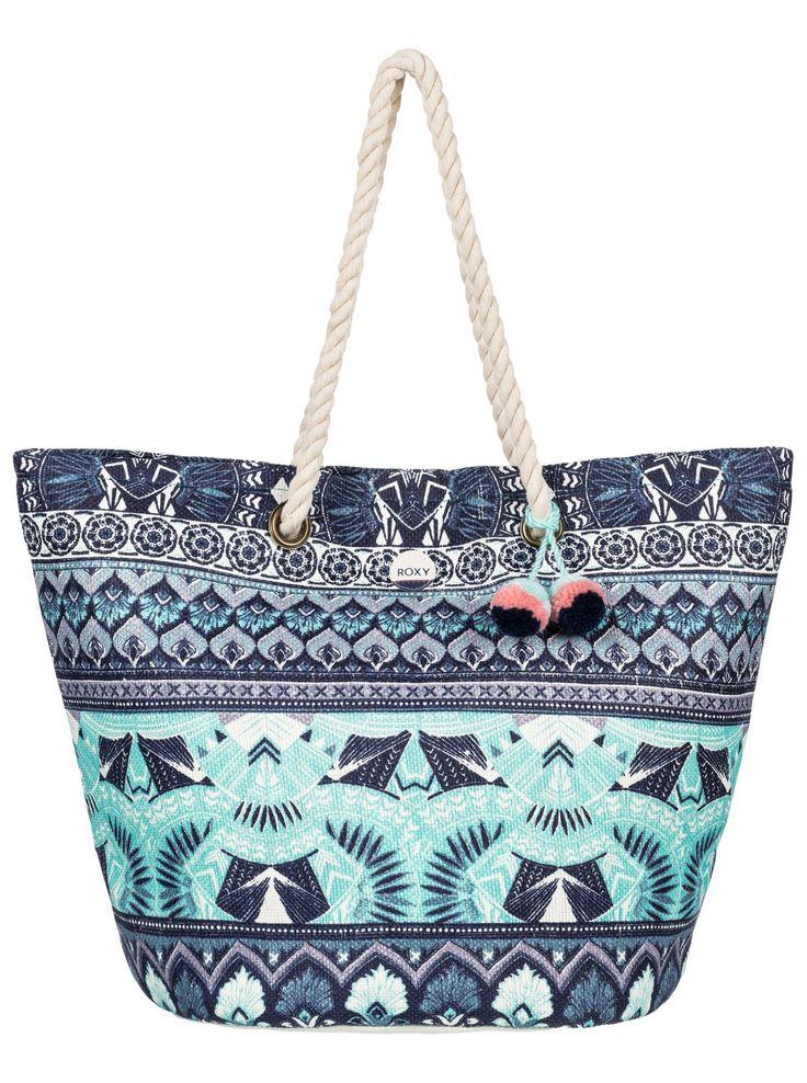 Roxy Straw Beach Bag